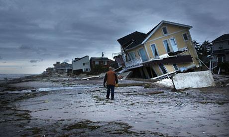 после урагана СЭНДИ