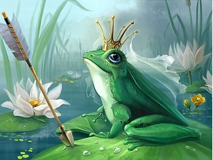 проклятье с царевны-лягушки тоже было снято