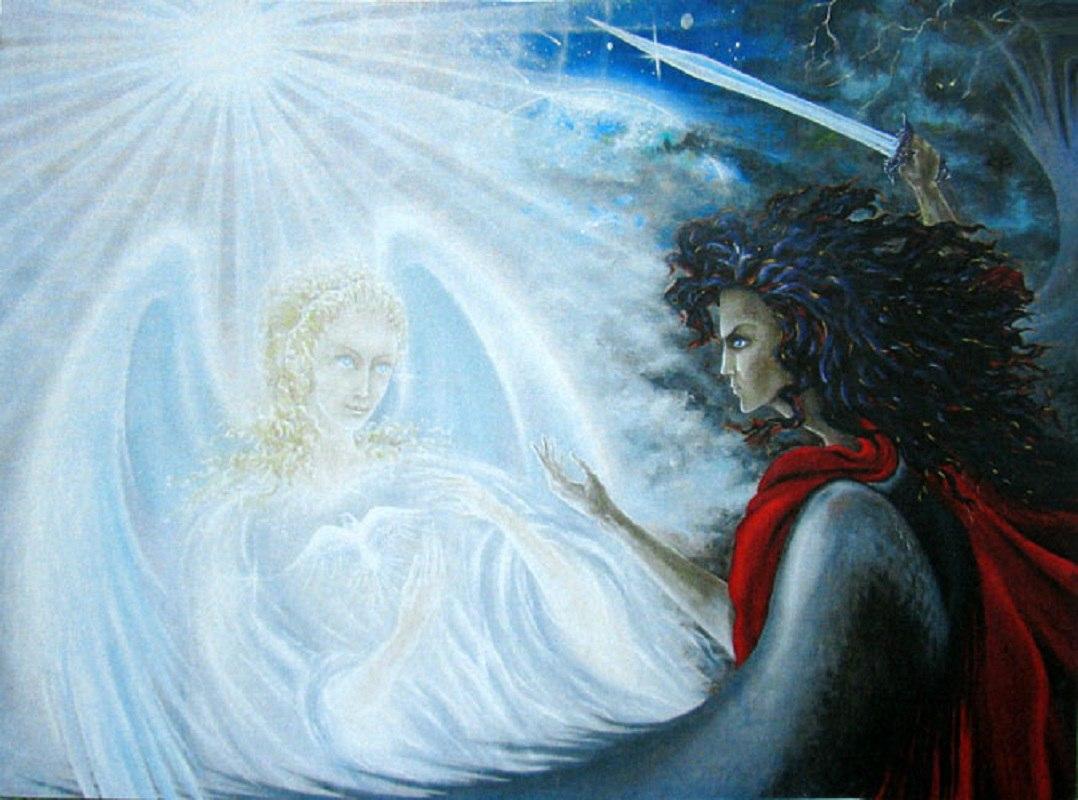 война ангелов и демонов за душу человека