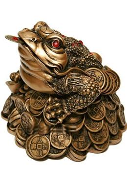 феншуй фигурка денежная жаба
